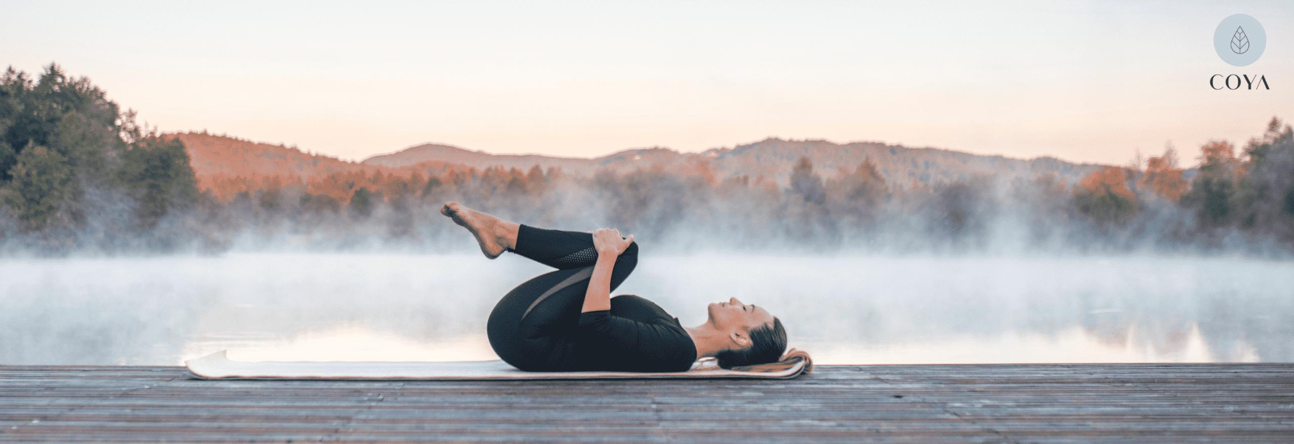 Wind Removing Pose Yin Yoga